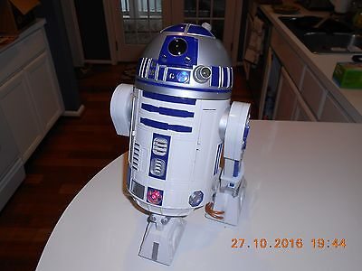 Hasbro 2002 Voice Activated R2-D2 Industrial Automaton Tested Working!