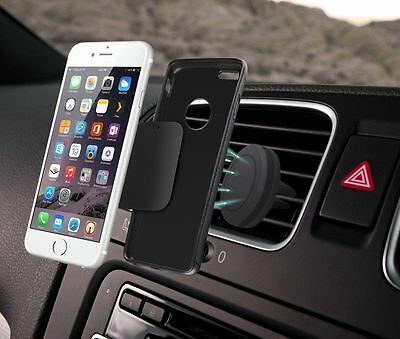 Universal Magnetic Car Air Vent Holder Stand Mount Cradle For Cell Phone GPS
