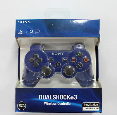 Sony Ps3 Playstation 3 Dualshock3 Wireless Bluetooth Sixaxis Controller