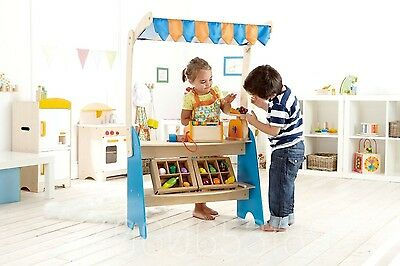 Hape Food Market Stall Accessories+CRATES -FREE SHIPPING-nkTradingCo