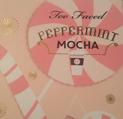 Too Faced Christmas In New York Grand Hotel Cafe Lt Ed Peppermint Mocha Palette