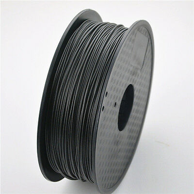 Carbon Fibre Pla Filament, 1Kg Roll 1.75 Black