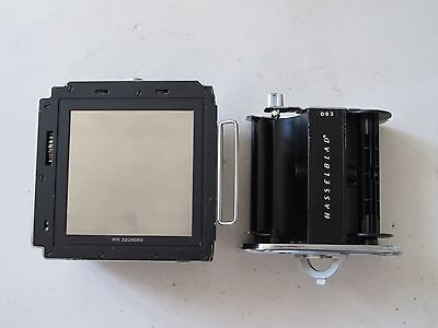 "Hasselblad A12 film back with dark slide and matching insert CHEAP ""LQQK"""