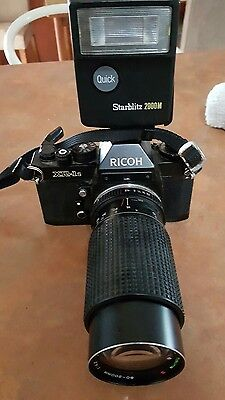 Ricoh XR-1S Camera with Tokina 80-200mm lens