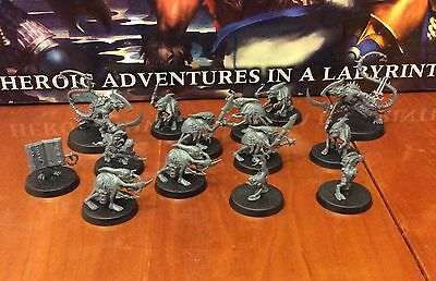 8 Grot Scuttlings, 2 Skaven Deathrunners, 4 Chaos Familiars (Silver Tower)