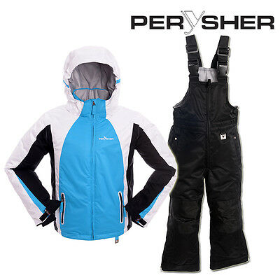 PERYSHER Extra Warm Kids Snowboard Ski Jacket & Pants - Children Combo