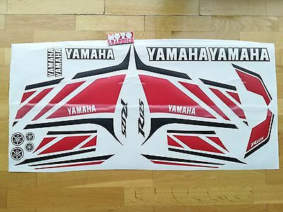 Yamaha Yzf R125 50Th Anniversary 2012 Graphics Stickers Vinyls Decals