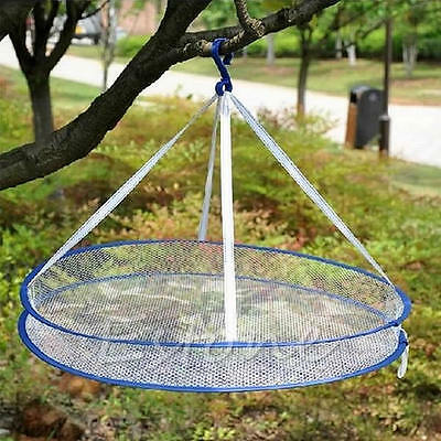 Drying Rack Folding Hanging Clothes Laundry Sweater Basket Dryer 1 Layer Net