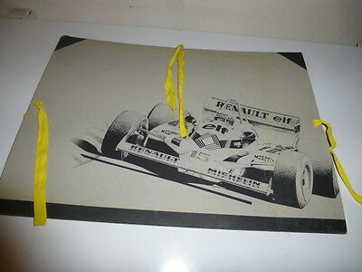 Gordini Alpine Rare Dossier Renault Competition Lithographies Richard Complet