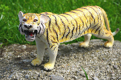 Vintage Toy Tiger Plastic