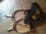 Horseriding Spurs with Straps