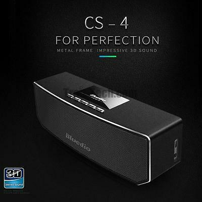 Bluedio CS4 Altavoces portatiles Inalambricos Bluetooth 3D Sound Wireless España