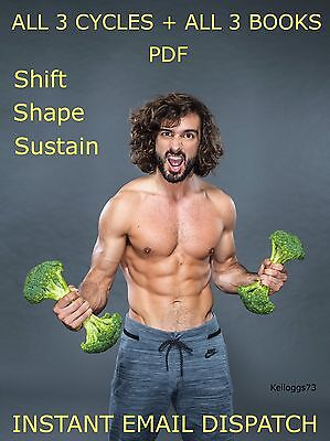Joe Wicks The Body Coach 90 day SSS Plan ALL 3 CYCLES & ALL Lean In 15 books PDF
