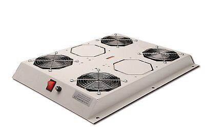 DN-19 FAN-4-SRV Roof cooling unit for DIGITUS server cabinets