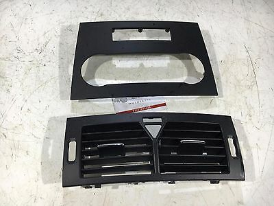 Mercedes A Class W169 Front Dashboard Panel Middle Air Vent + Radio Cover