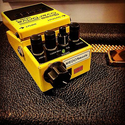 Boss ODB3 Bass Overdrive Fuzz Distortion Pedal Mod