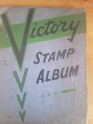 The Victory Stamp Album - 13th Edition. Vintage Stamps of the World