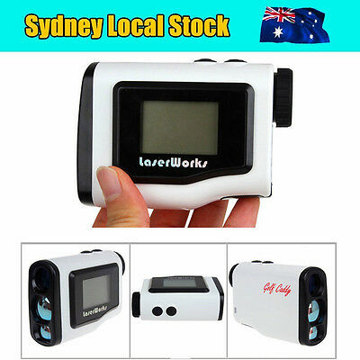 LOCAL 600m Golf Laser Range Finder Distance Meter Speed Measurer Scope PinSeeker