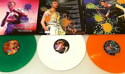 David Bowie Dublin: I'm In Clover Coloured Vinyl 3 LPs New Rare Limited Numbered