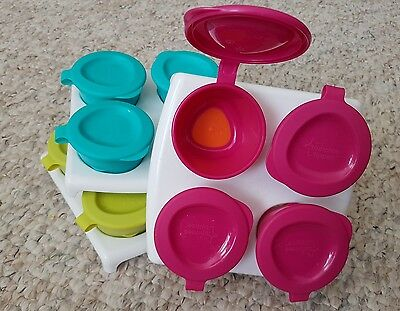 Tommee Tippee Explora 2oz Pop Up Freezer Pots & Tray Weaning 4mth+