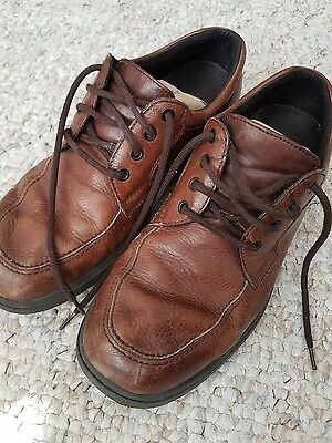 Mens Brown Hush Puppies Shoes UK Size 10