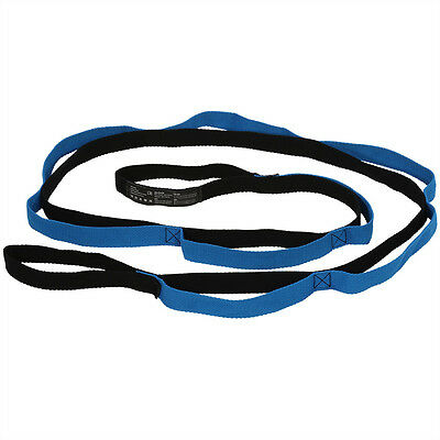 Yoga Stretching Strap Exercise Bands Loops For Arms Shoulders Thighs Hips 2m SG