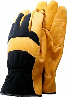 Town & Country General Purpose Leather Gloves - Medium - TGL112