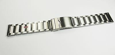 Uhrenarmband Edelstahl Armband Metall Band Stainless Steel Watch Bracelet 22mm #