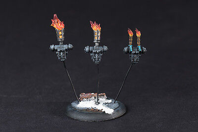 Torch, flamer brazier set for Sister of Battle, Superior, Canoness backpack.