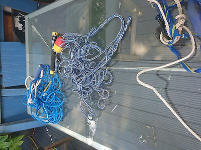 Clingon Water ski handle and 20 metre floating rope