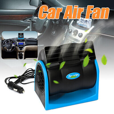 12V Car Vehicle Cooling Cooler Air Fan Silent 2 Speed Adjustable Cool Silence