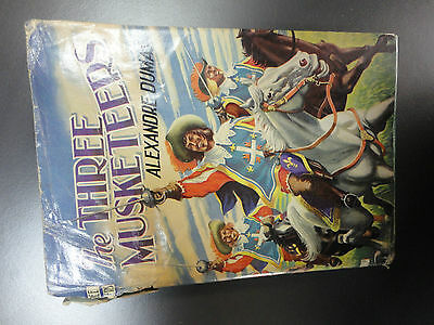collectable Vintage Story Book The Three Musketeers Alexandre Dumas hardback