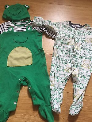Baby Boys Next Sleepsuits 3-6 Months