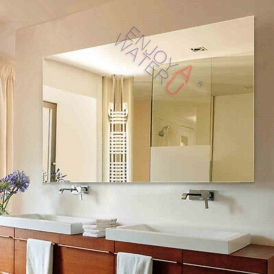 1500X900mm Wall Mirror Large Pencil Edge HOME Deco Hotel Rectangle Frameless NEW