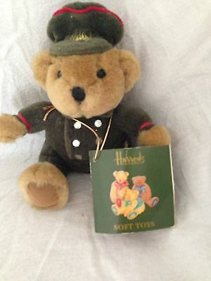 Harrods Bear Green Doorman
