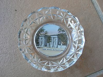 Shire Office Heathcote Vic Souvenir Glass Dish