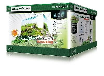 Dennerle Scapers Tank Complete 35 Liter   LED 40x32x28 (BxTxH)