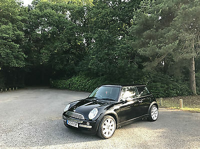 2004 Mini Mini 1.6 One 3 Door Hatchback Black