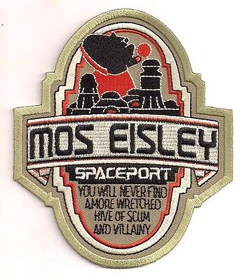 """Star Wars Celebration 6- Mos Eisley Spaceport 4.5"""" DELUXE Patch (SWPA-C-601)"""
