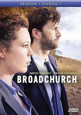 Broadchurch: The Complete First Season (DVD, 2014, 3-Disc Set, Canadian)
