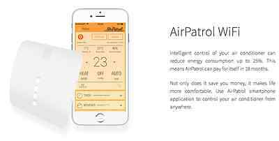 AirPatrol WiFi Control Your Split Air Conditioner with Smartphone from Anywhere