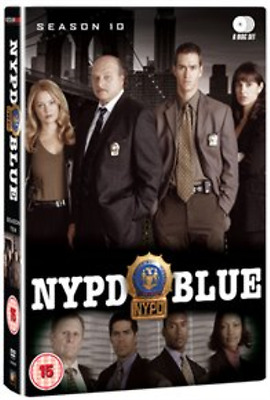 Dennis Franz, Gordon Clapp-NYPD Blue: Season 10  (UK IMPORT)  DVD NEW