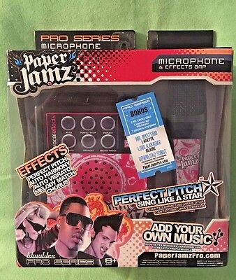 Paper Jamz Pro Series Microphone and Effects Amp Brand New & Sealed