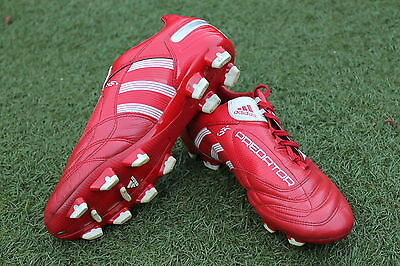 Adidas Predator X RED Football Boots UK Size 9 Extremely hard to find! Not Mania