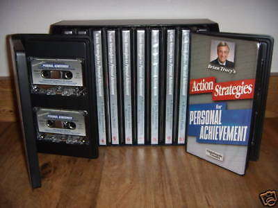 Action Strategies For Personal Achievement - Brian Tracy - 24 Cassette + 24 CDS