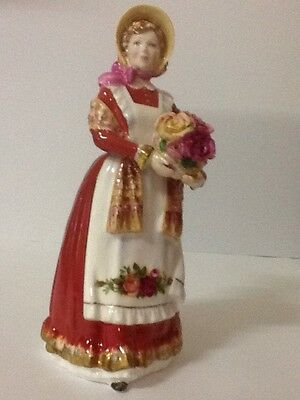 "Rare-Vintage Royal Doulton Figurine ""OLD COUNTRY ROSES"" Made in England"