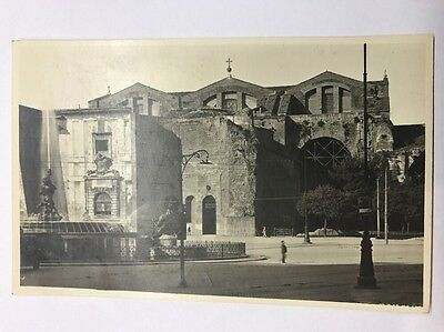 Black And White Vintage Postcard Italy Rome  S. Maria Degli Apostoli Unused