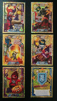 LEGO NEXO KNIGHTS Trading Cards Bundle.Inc Limited Editions