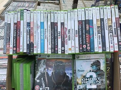 Job Lot Of 100 XBox 360 Games Boxed For Export Car Boot Market Etc Free Post Too