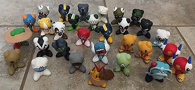 UB Funkeys Lot of 30 Mixed Figures Includes Some Rares & Very Rares Not Tested